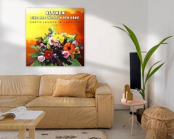 Blumen  |  Zitat von Dirk H. Wendt