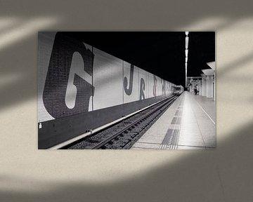 Metro Amsterdam Wibautstraat van shoott photography