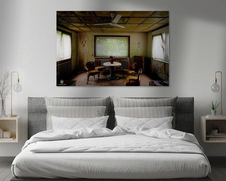 Beispiel: Zerfall-Hotel von michel van bijsterveld
