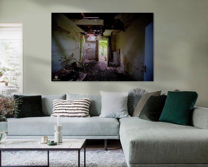 Beispiel: Zimmer mit Aussicht von michel van bijsterveld