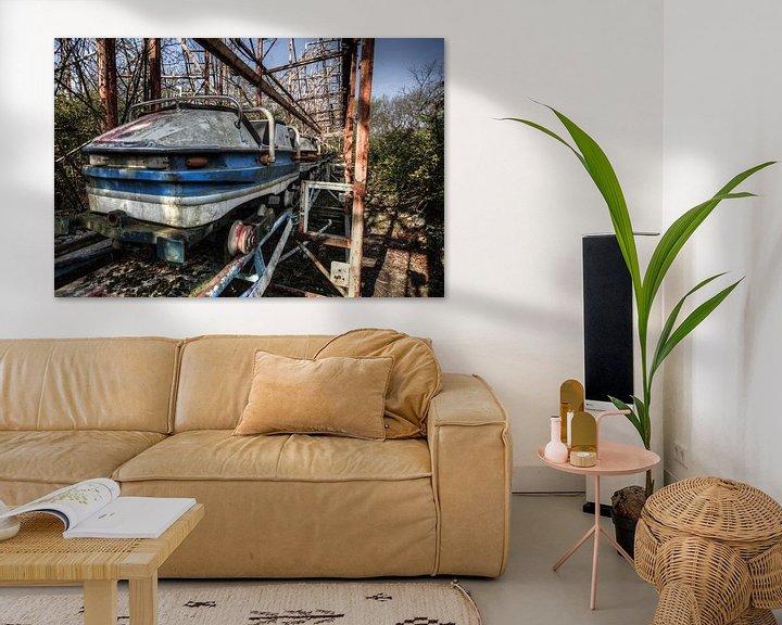 Beispiel: verlassene Achterbahn von michel van bijsterveld