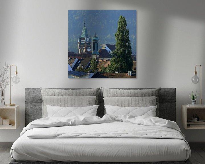 Sfeerimpressie: Torens en torentjes in Freiburg van Patrick Lohmüller