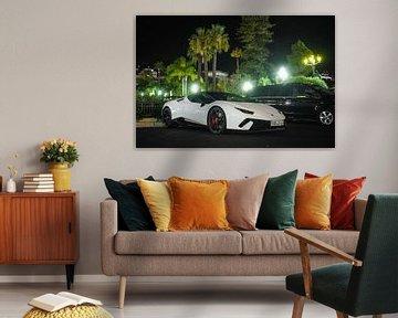 Lamborghini Huracan Performante Spyder in Monaco! van joost prins