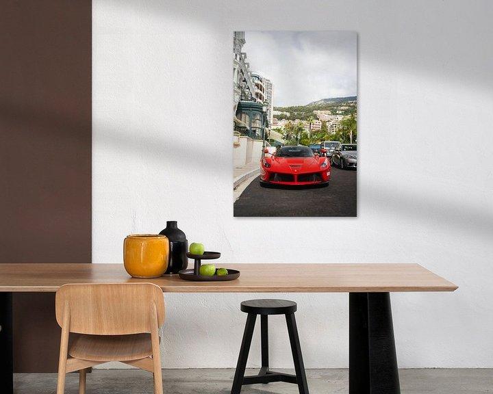Sfeerimpressie: Ferrari LaFerrari in Monaco! van joost prins