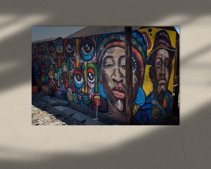 Sfeerimpressie: Street art van Roelinda Tip