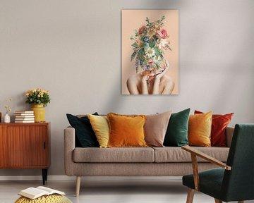 She Blossoms van Marja van den Hurk