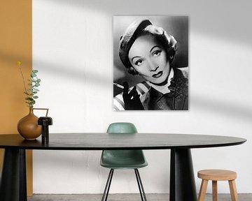 Marlene Dietrich, 1951 van Bridgeman Images