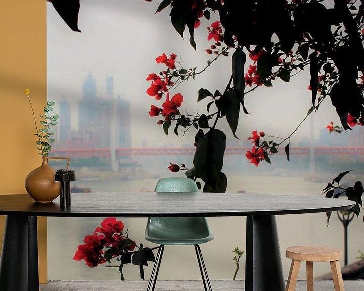 Impression: Poésie du fleuve Yangtze 1 sur Loretta's Art