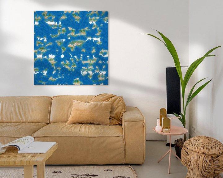 Sfeerimpressie: De Platte Aarde van Frans Blok