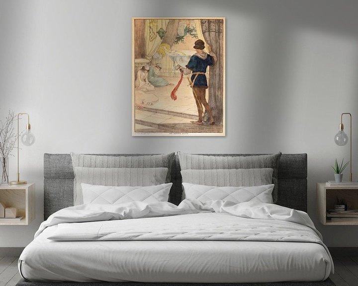 Beispiel: Dornröschen, Elizabeth Tyler von Vintage Afbeeldingen
