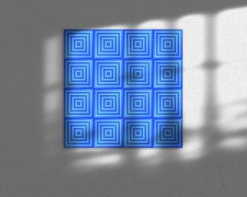 Geometric composition #10 van Jan Everink