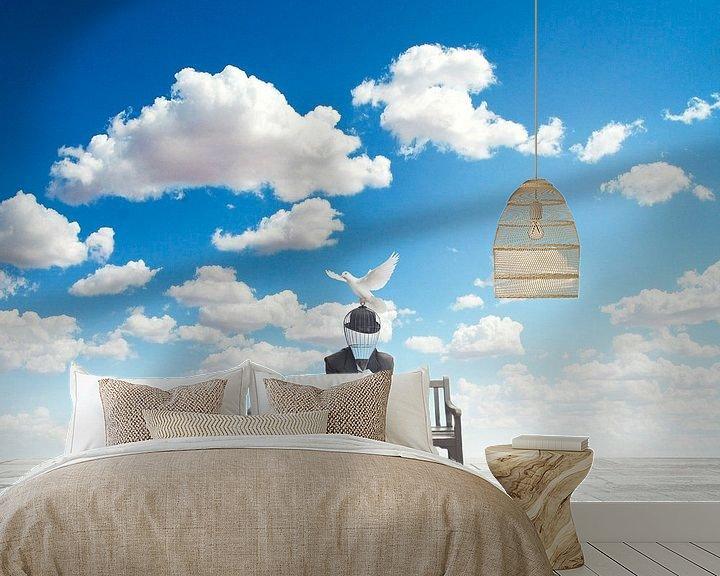 Beispiel fototapete: Der Traum von Catherine Fortin