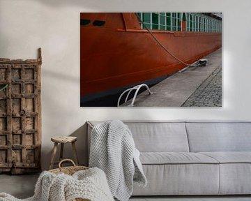 Port de Rotterdam sur Marieke van der Hoek-Vijfvinkel
