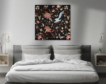 The Vintaged Wallpaper – Black