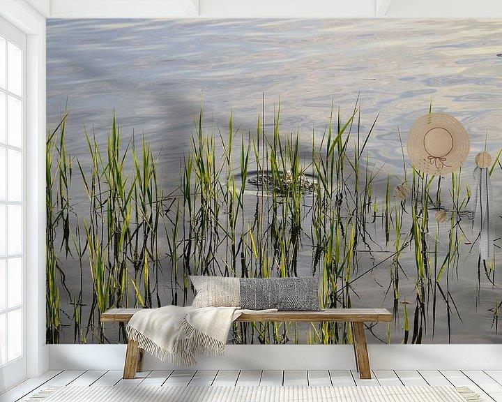 Beispiel fototapete: Schilf am Staffelsee von Miroslav Plahusch