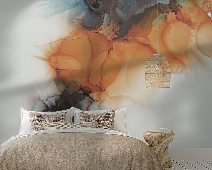 Sfeerimpressie behang: Connected van Carla Mesken-Dijkhoff