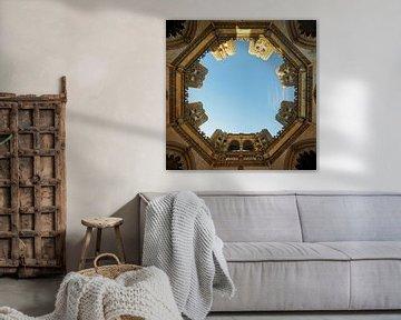 Die unvollendeten Kapellen, Blick in den Himmel. von Berthold Werner