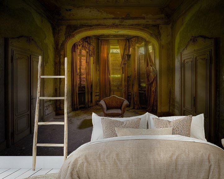 Beispiel fototapete: Der verlassene italienische Sessel von Wesley Van Vijfeijken