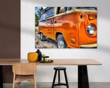 Volkswagen T2B camper van GoWildGoNaturepictures