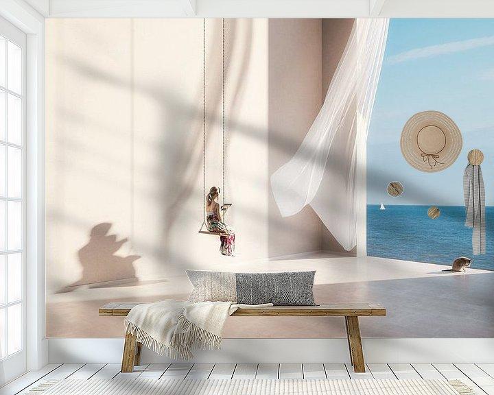 Sfeerimpressie behang: Swing mood van Olaf Kramer