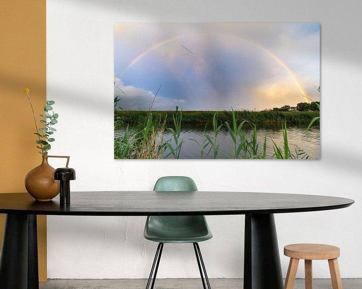 Sfeerimpressie: Regenboog van Mark Bolijn