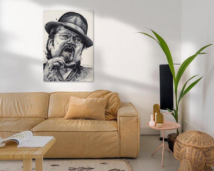 Beispiel: Andre Hazes Gemälde von Jos Hoppenbrouwers