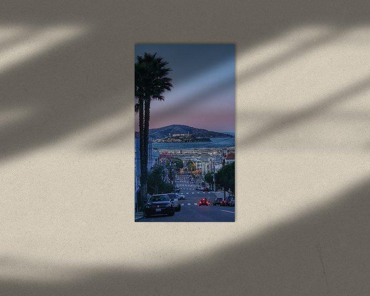 Beispiel: Alcatraz, Bucht von San Francisco, USA von Joost Jongeneel