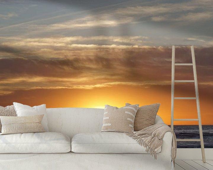 Beispiel fototapete: Sonnenuntergang, Los Angeles, Vereinigte Staaten von Joost Jongeneel