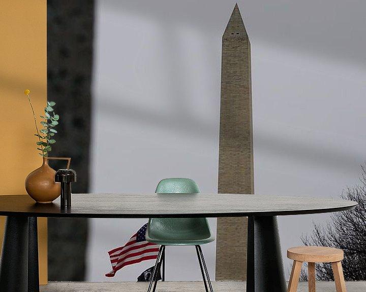 Beispiel fototapete: Washington Monument, Washington, Vereinigte Staaten von Joost Jongeneel