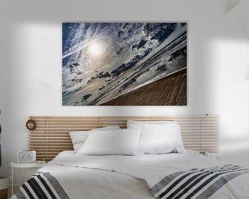 Noordzeestrand, Texel van Jakob Huizen van