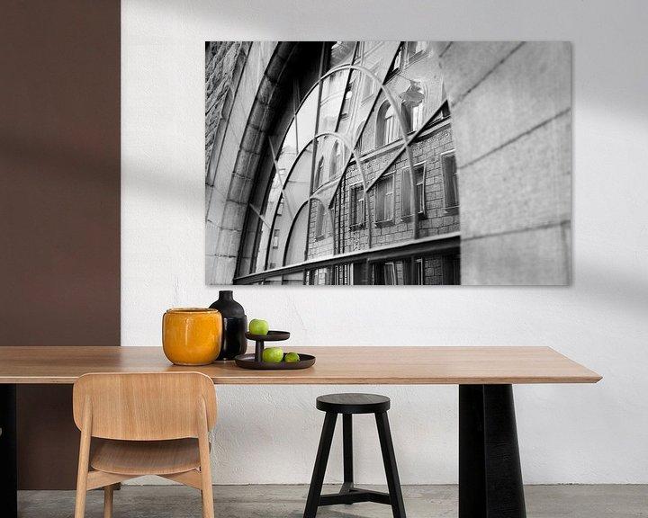 Sfeerimpressie: Straatbeeld van stockholm van Karijn   Fine art Natuur en Reis Fotografie