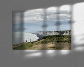 Kliffen van Normandië van Willem van den Berge