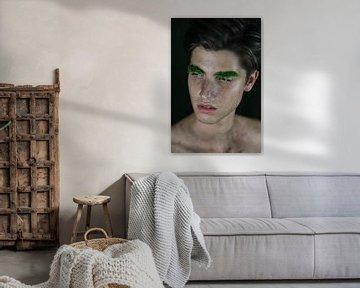 Man met mos van Iris Kelly Kuntkes