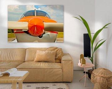 Das Sportflugzeug von Norbert Sülzner
