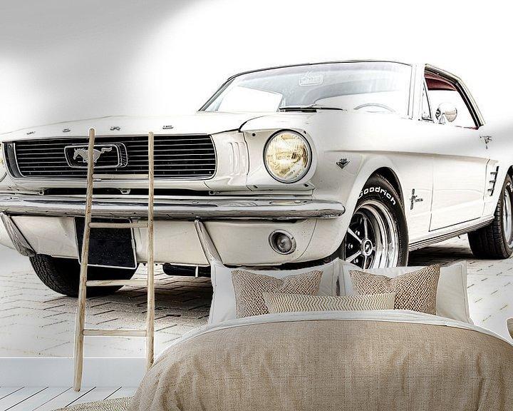 Beispiel fototapete: Ford Mustang von marco de Jonge