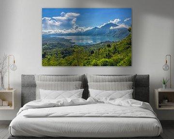 Gunung Agung op Bali in Indonesië van Tux Photography