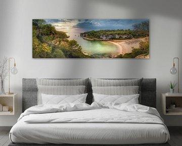 Eiland Mallorca met Cala Llombards baai bij zonsopgang van Fine Art Fotografie