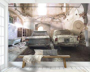 verlaten auto's van Kristof Ven