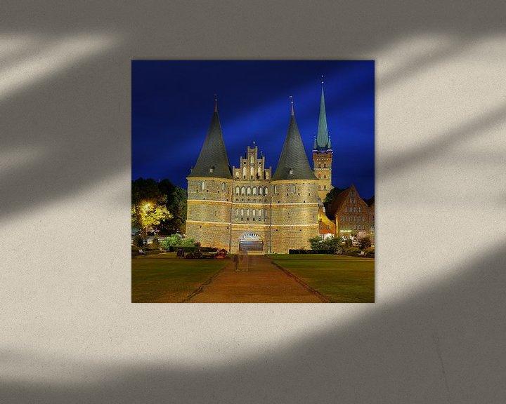 Beispiel: Holstentor Lübeck von Patrick Lohmüller