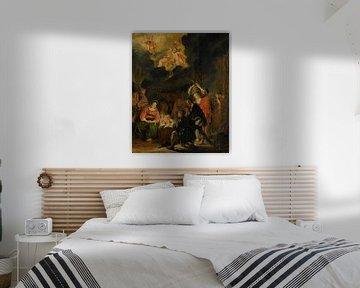 Die Anbetung der Hirten, Pieter Codde