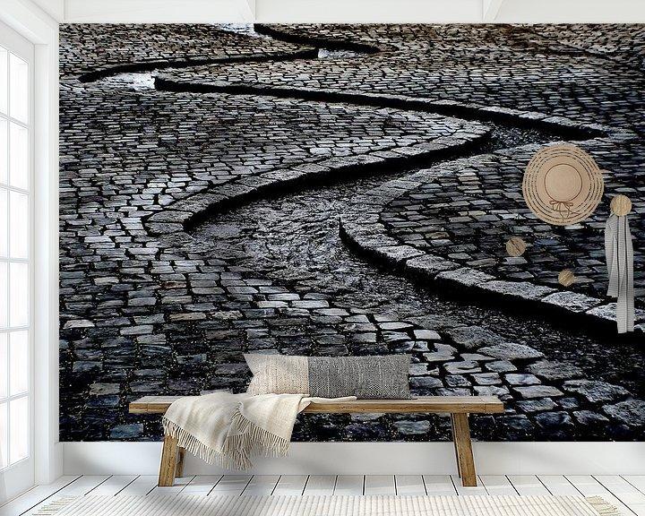 Sfeerimpressie behang: Waterslang van Petra Dreiling-Schewe