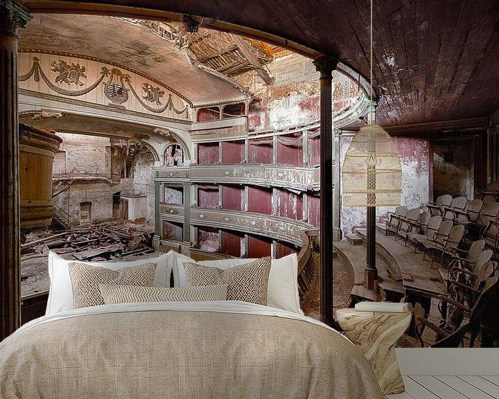 Beispiel fototapete: Goldenes Theater von Jeroen Kenis