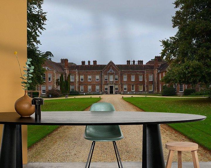 Sfeerimpressie behang: Landgoed The Vyne (zuidkant) van Patricia Leeman
