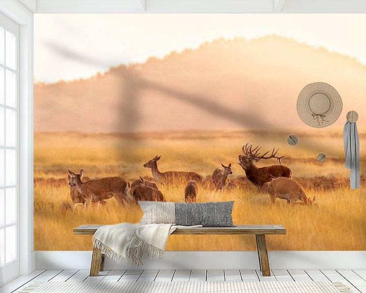 Sfeerimpressie behang: Bronst van Sander Meertins