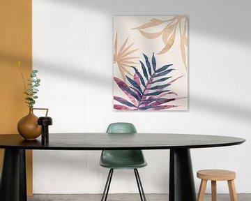 Tropisches Laub 3 von Angel Estevez