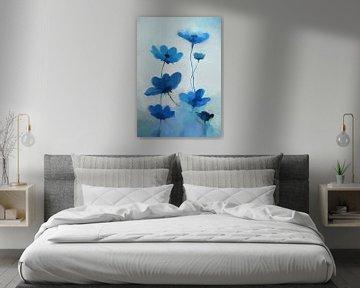 Blaue Blume von Angel Estevez