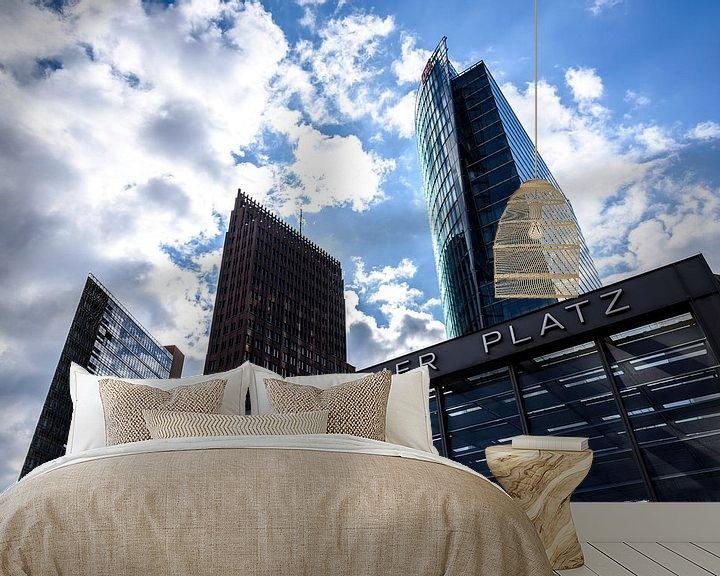 Impression: Skyline de la Potsdamer Platz sur Frank Herrmann