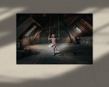 Une fille dans le grenier sur Nick Weijsters
