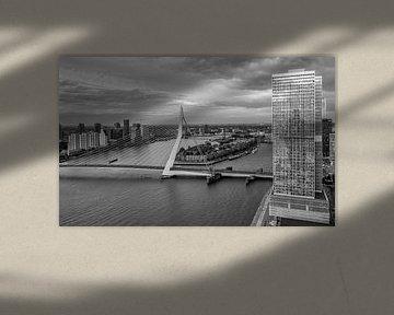 Skyline Rotterdam vom WPC von Ilya Korzelius