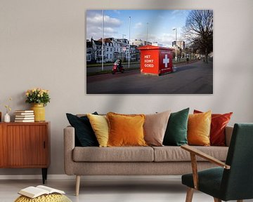 Straßenbild Rotterdam von Remco-Daniël Gielen Photography